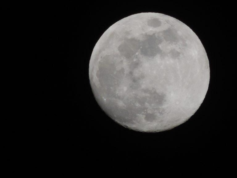 The Moon, Captured in Oshawa, ON