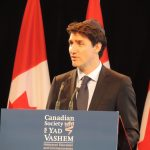 Prime Minister Justin Trudeau at 2017 National Holocaust Remembrance Day Ceremony